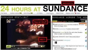 Ashton Kutcher 24 hours at Sundance