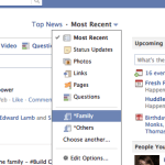 Facebook: How to View Newsfeed of a Friends List