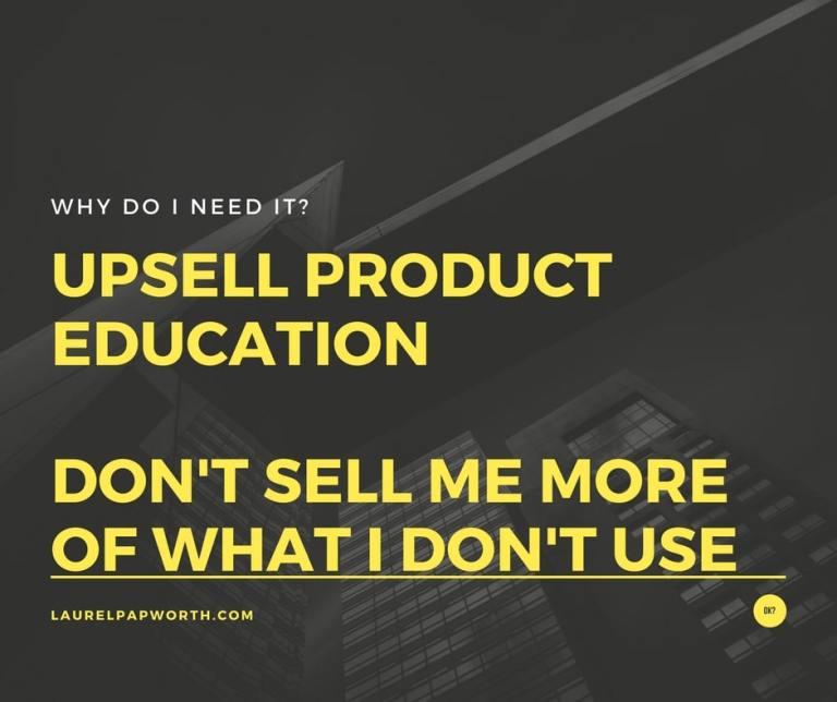 Best Upsell is Education #Dropbox #marketing