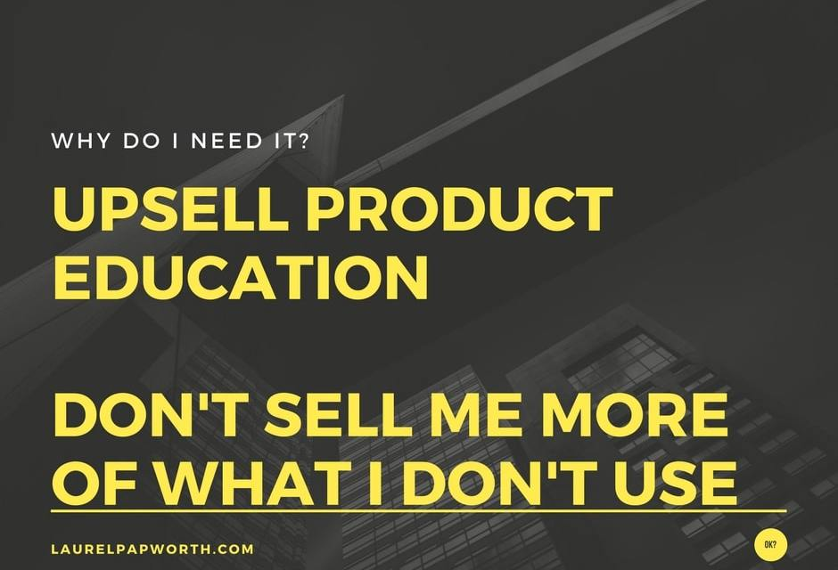 Best Upsell is Education #Dropbox #marketing