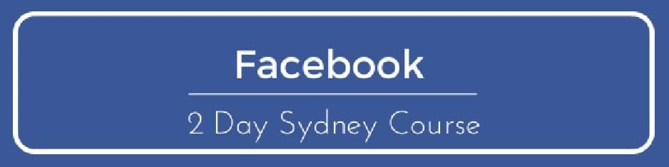 Sydney, Australia – Facebook Course June 2017
