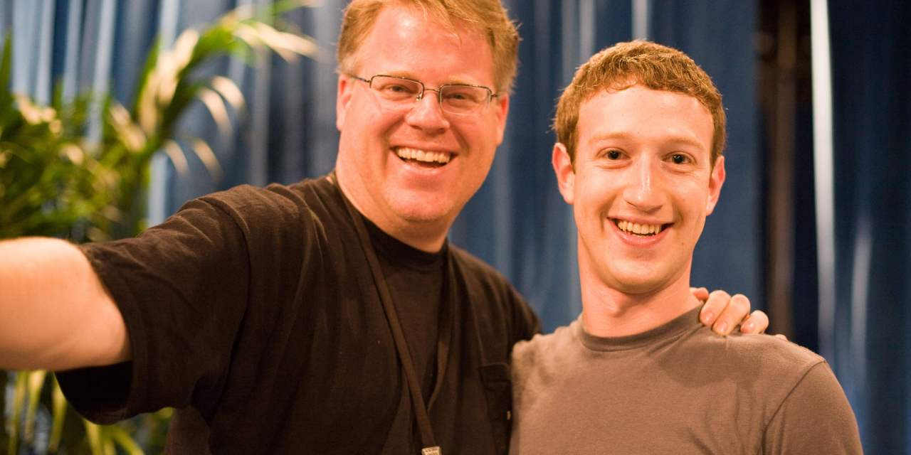 Mark Zuckerberg as POTUS? President of USA and Facebook?