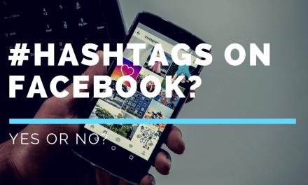 Does Facebook Use Hashtags? #SocialMedia