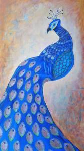 Bluebird by Artist Ellen Hines