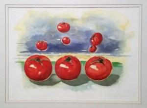 Glorious Reds by Artist Sara Nadeau