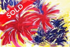 Dancing Colours by Artist Susana Kim