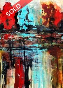 Lake of My Dreams by Artist Myriam Laberge