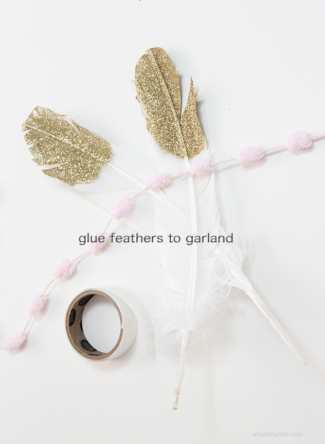 Best I love the soft ethereal look of the feather garland A romantic backdrop for a Valentine us party or use them for a wedding backdrop