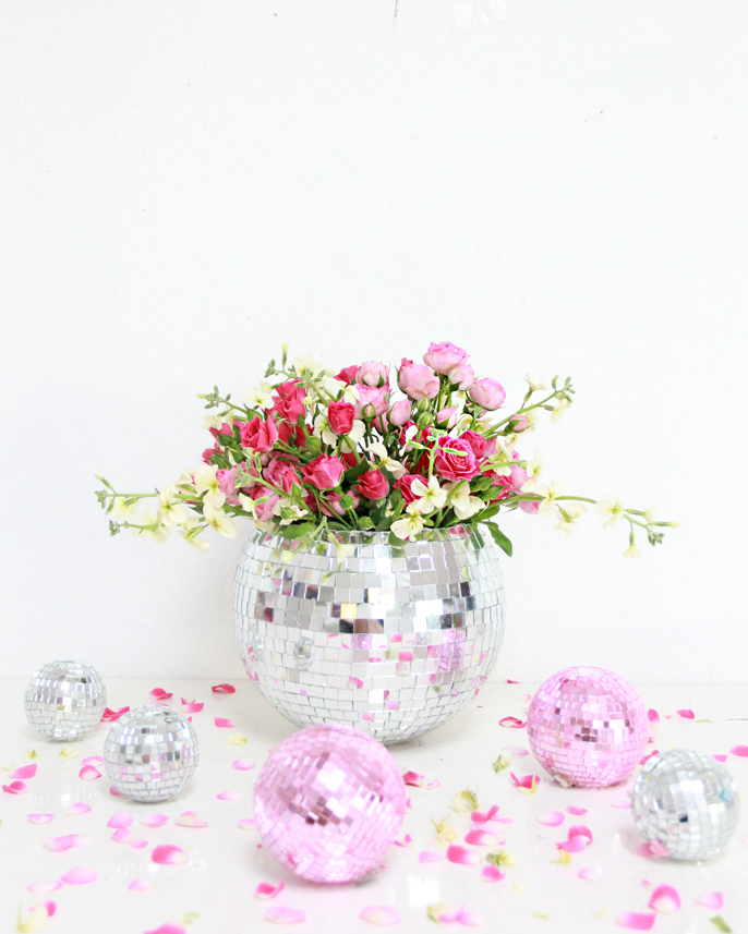 A Bubbly Lifediy Disco Ball Vase A Bubbly Life