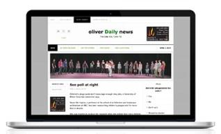 Oliver Daily News Website