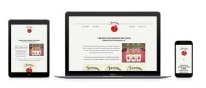 responsive, mobile-friendly versions of the Faustino Estate Cidery Website