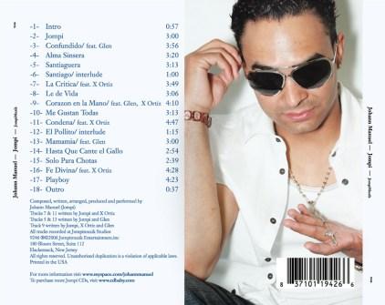 Johann Manuel CD package, 2006
