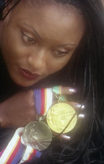 Shari Howard, Olympic Relay Runner
