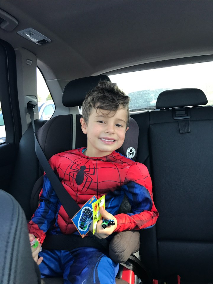 John, superman costume