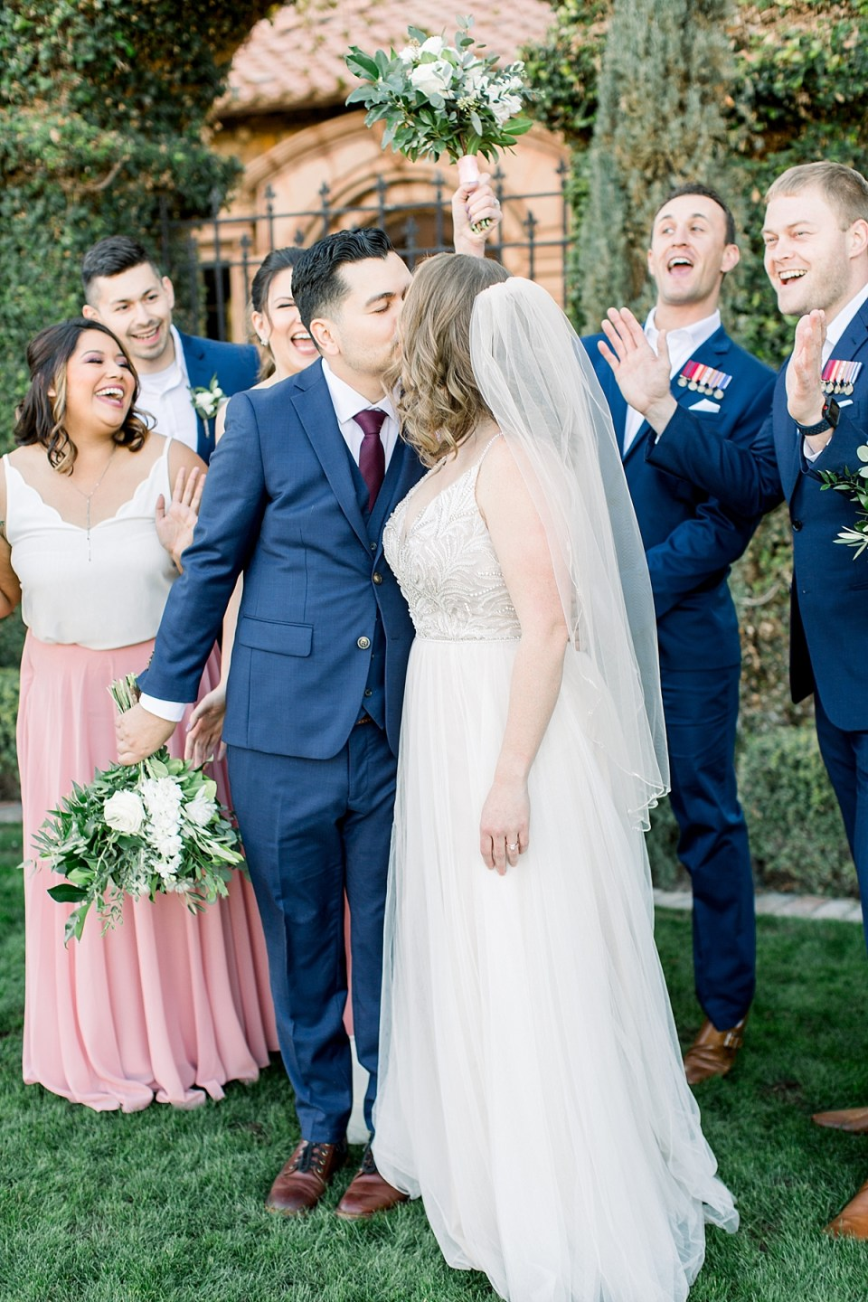 Villa Siena Wedding, Villa Siena Gilbert, Arizona Blush Wedding, Villa Siena Wedding Photographer, Phoenix Wedding Photographer, Villa Siena Bridal Party