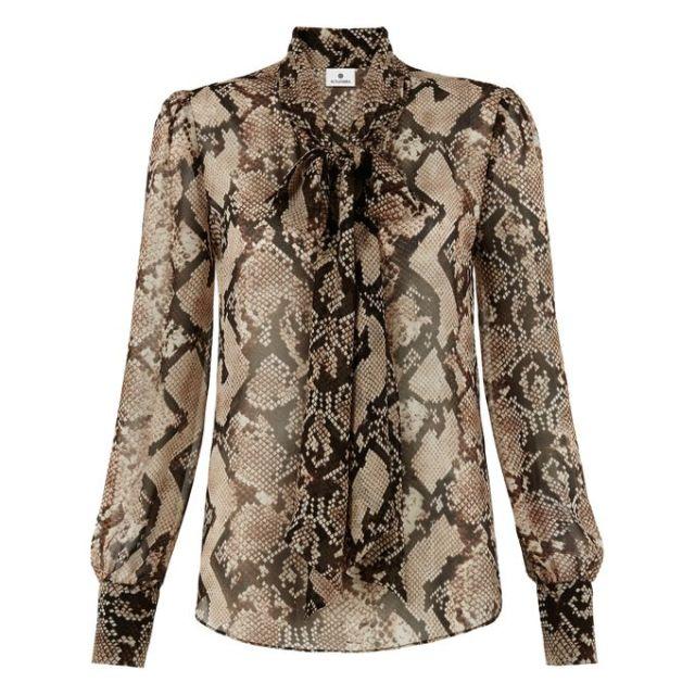 altuzarra for target python snake blouse