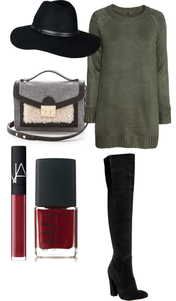fall winter outfit idea