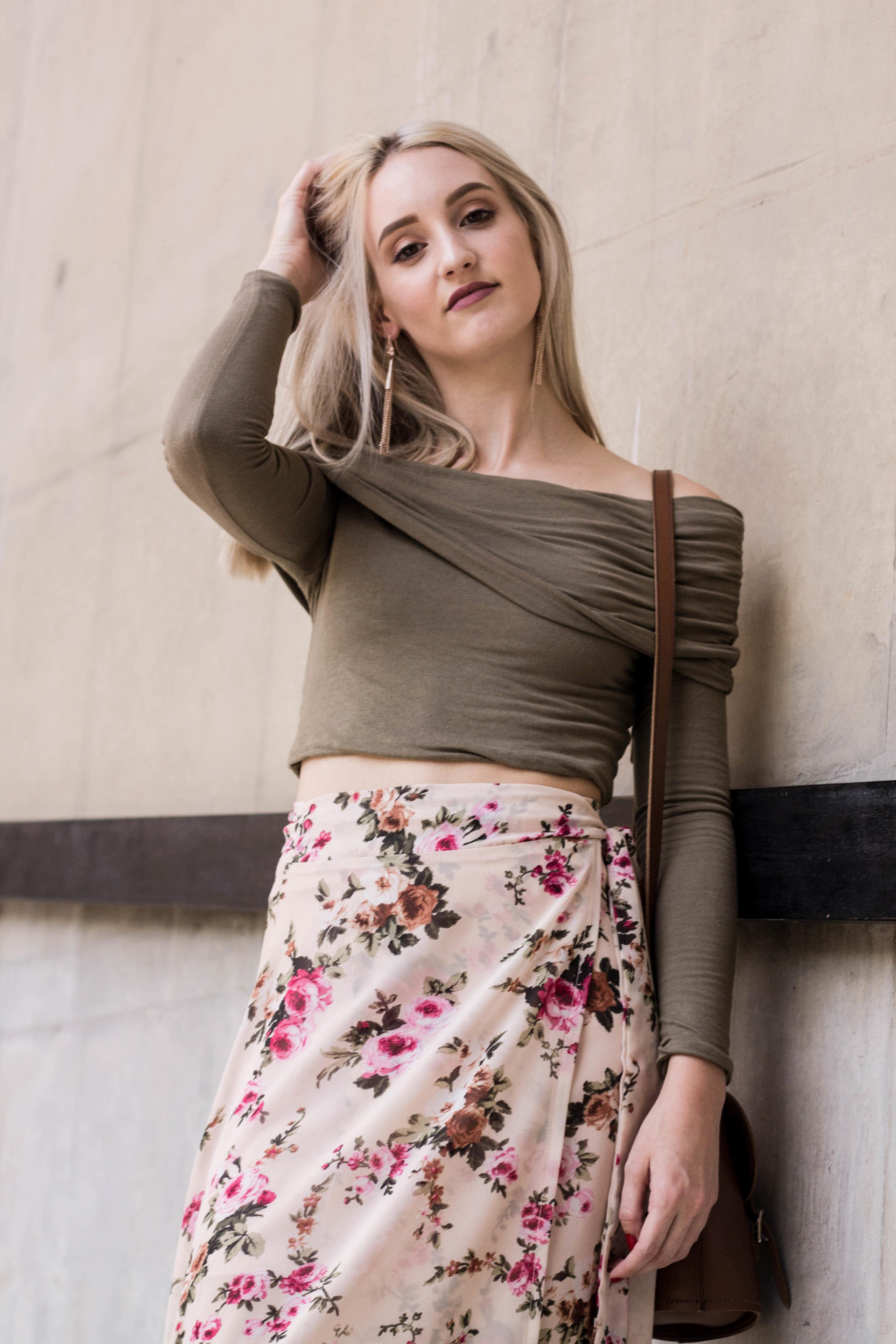 Lauren in believe skirt