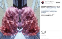 Pink Hair at Kat's Meow Salon