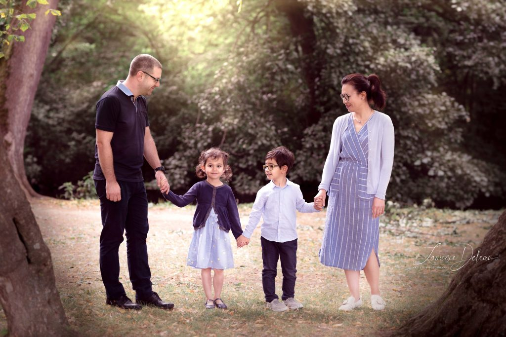 shooting life style famille
