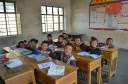 """We gave each child a notebook and a pencil, and we taught them how to say """"goodbye"""" in Mandarin (再见!)"""