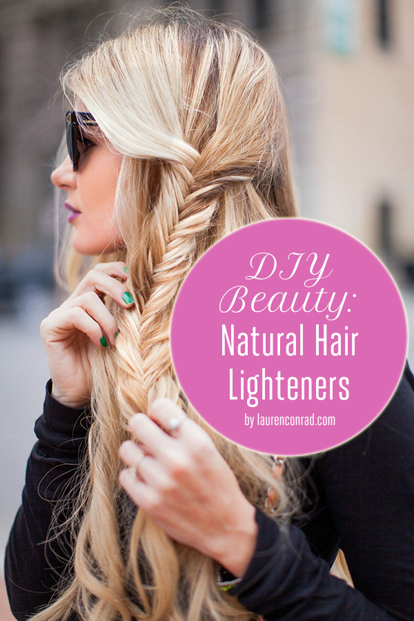 Natural Hair Lighteners Without The Sun