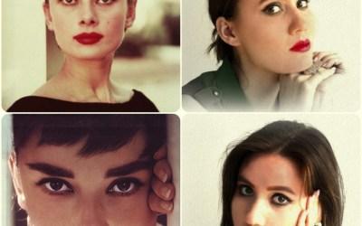 DAILY DIVA: Michelle Weiss as Audrey Hepburn