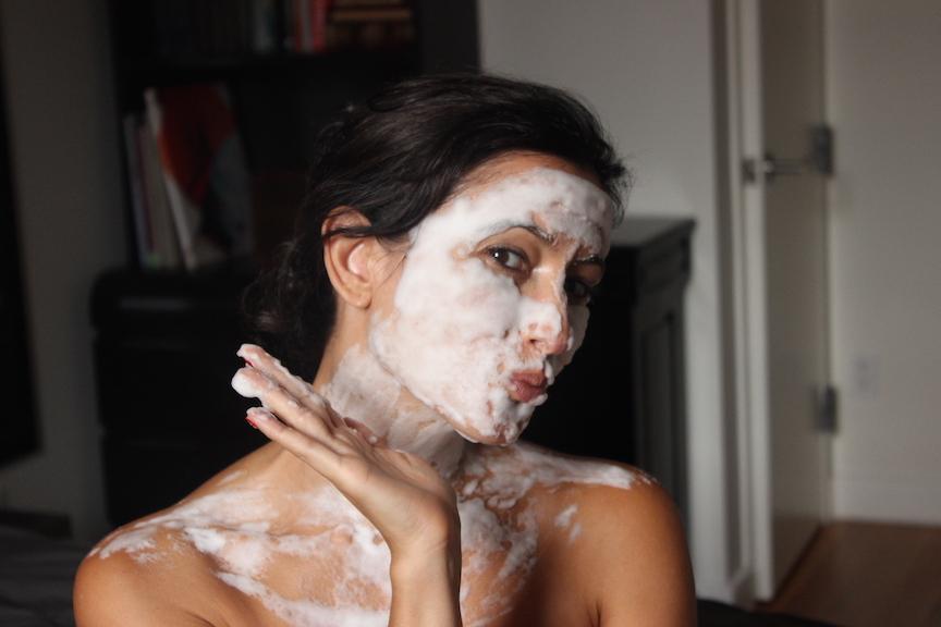 ling sparkling makeover mask 2