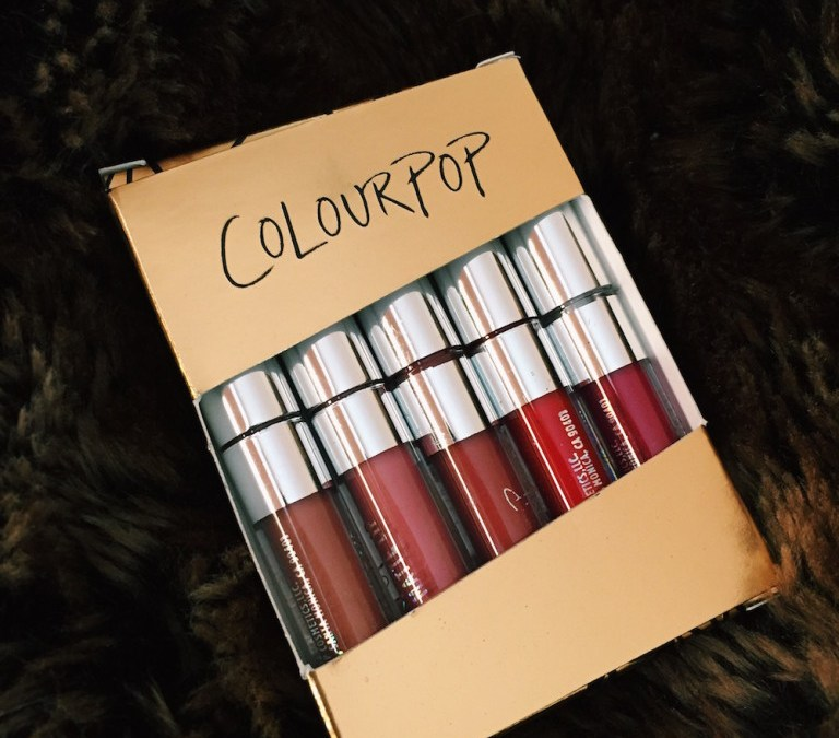 "TECH BABE: ColourPop Mini Kit in ""Foxy"""