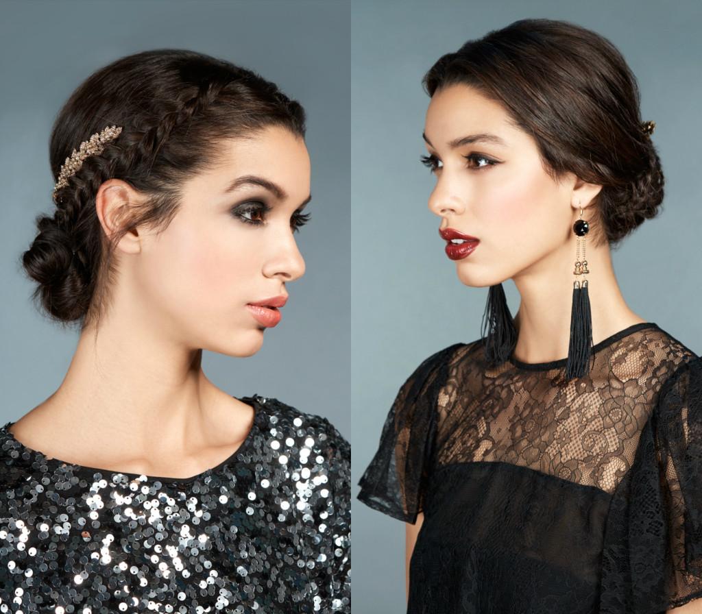 holiday hair and makeup