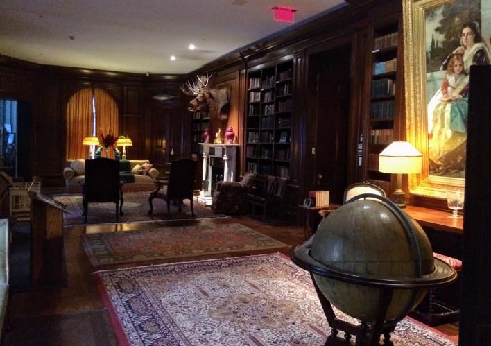 Pinchot library at Grey Towers