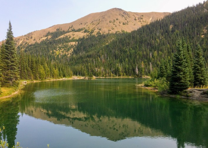 Grand Lake would make a good overnight backpack destination, too.