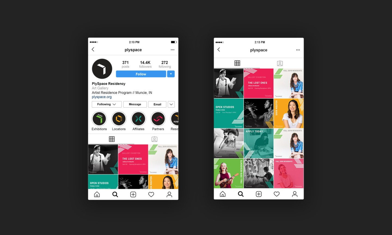 PlySpace Instagram profile