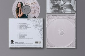 The Sutton Foster album designs