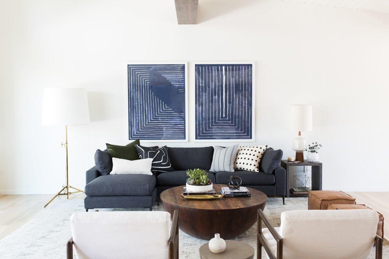 Mid century modern interior studio mcgee