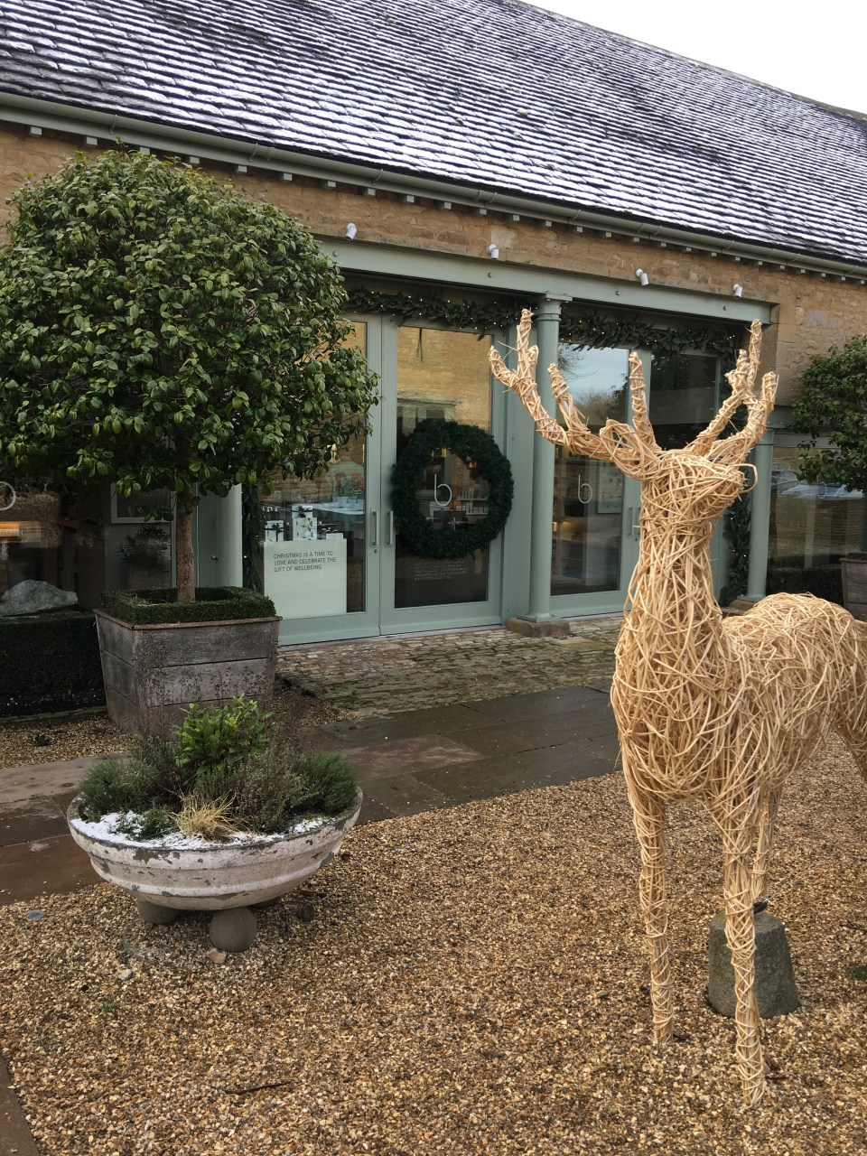 Cotswolds farm shop and spa