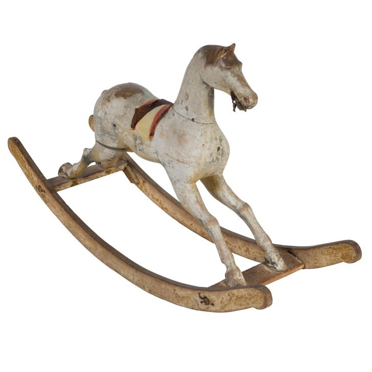 Rocking horse cheltenham races antiques decorative accessories