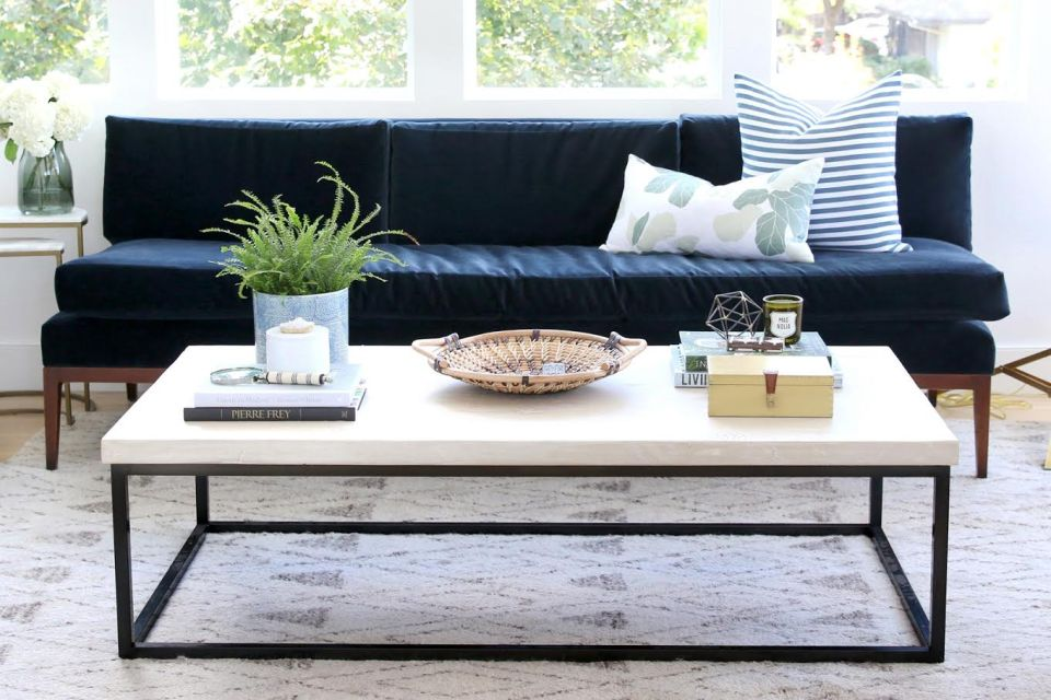 Coffee table styling inspiration spring cleaning