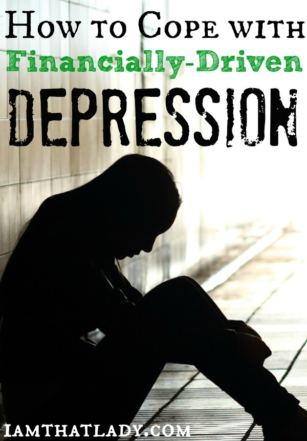 How to Cope with Financially-Driven Depression
