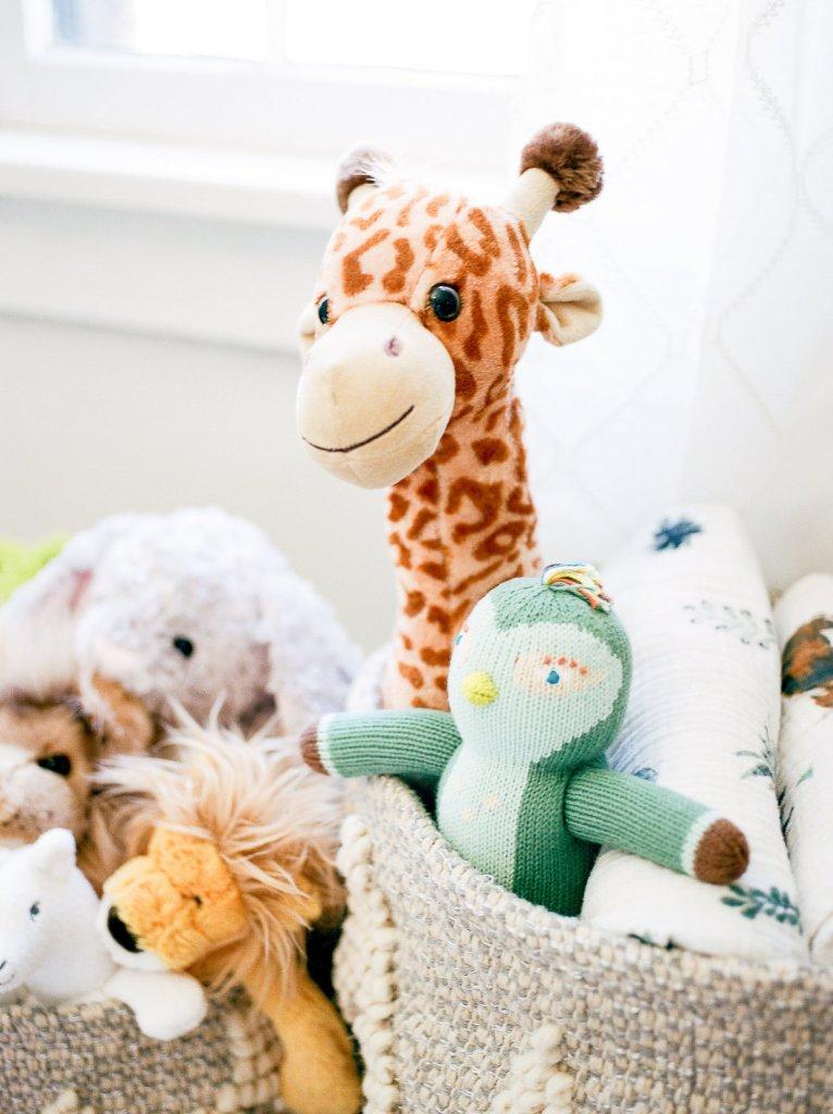 Stuffed Animal Nursery, Baby Boy, Neutral Inspired Nursery