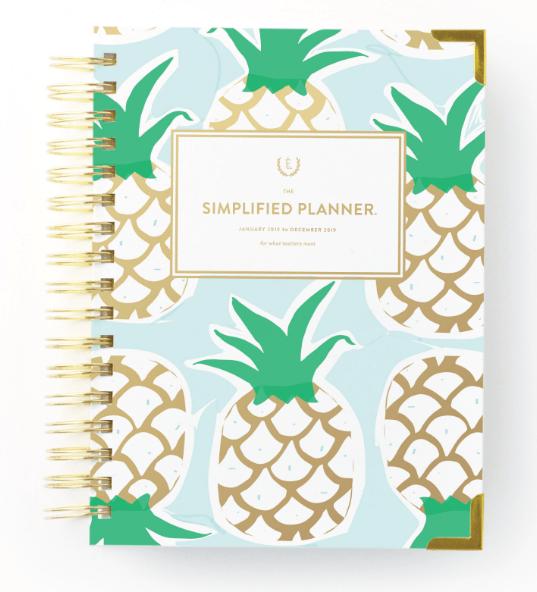 Simplified Planner, September 2018 Favorites