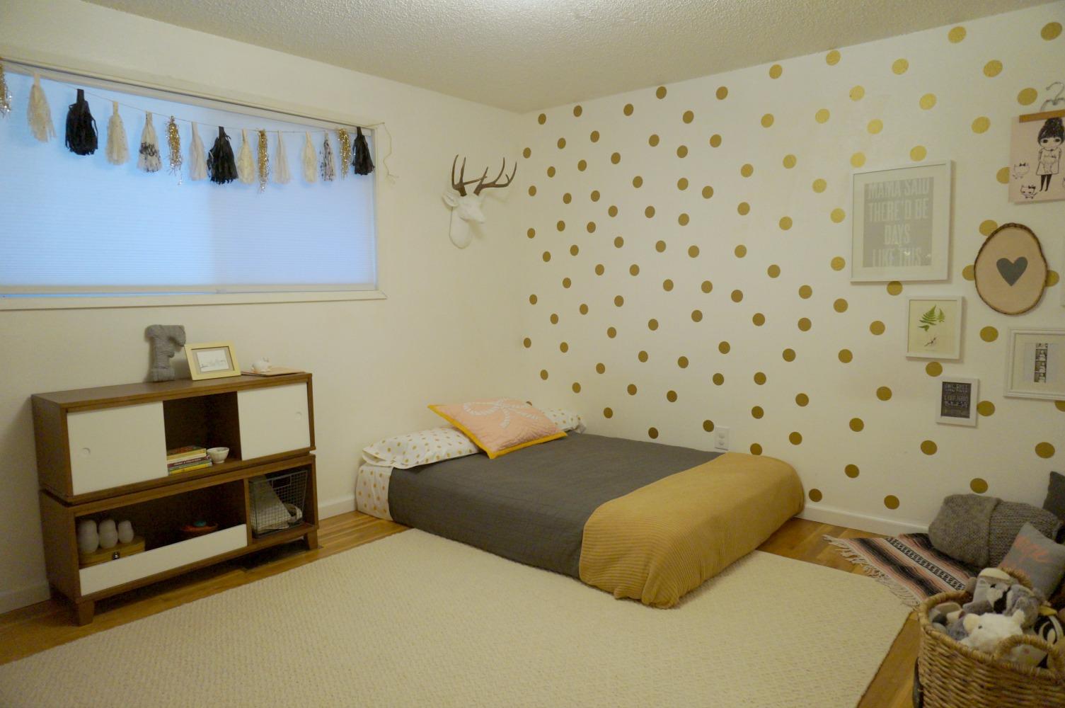 Ferns Big Girl Room Redesign