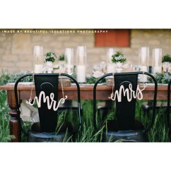 Mr And Mrs Chair Signs Heavy Duty Casters For Wedding800x1200 Lauren Heim Studio Hand Lettered Wedding