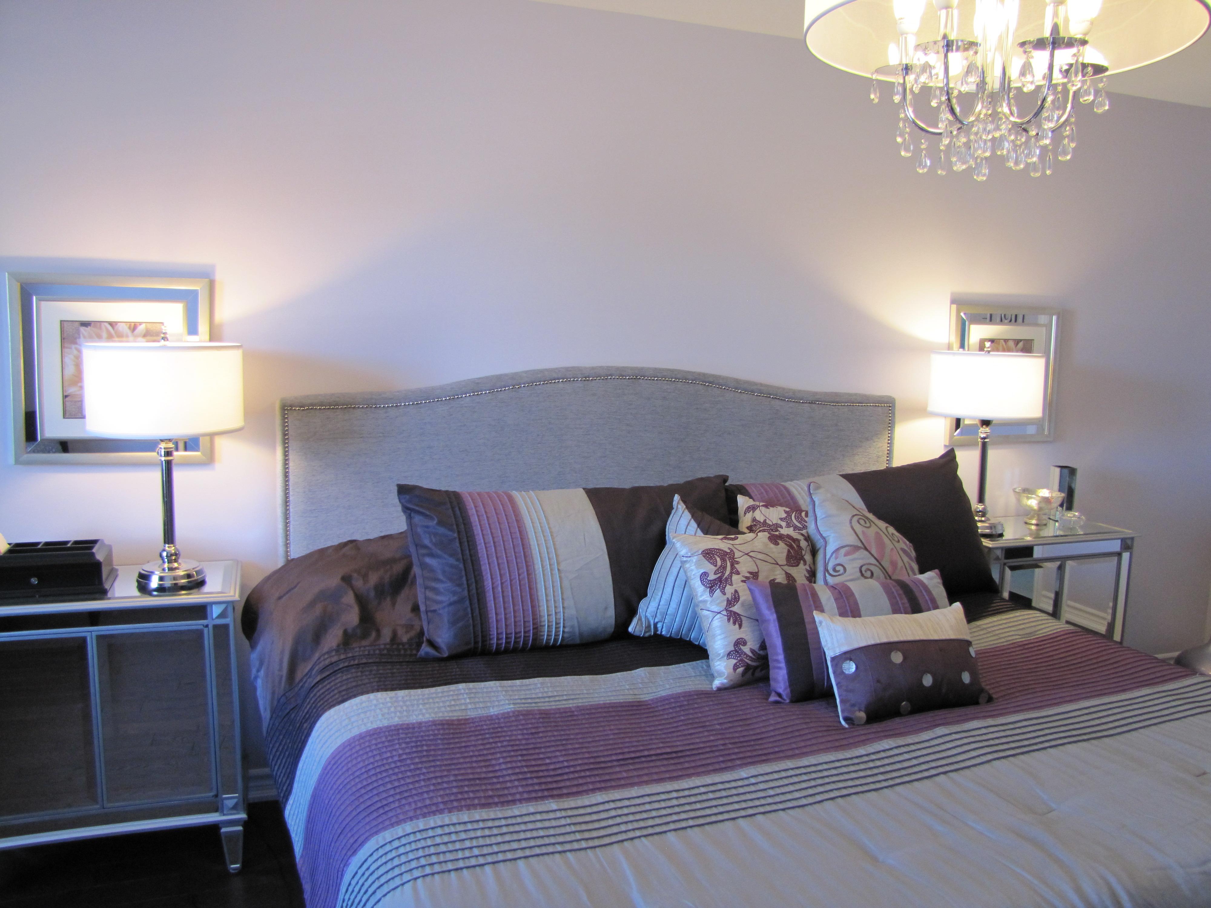 Dark Purple And Grey Bedroom Ideas Novocom Top