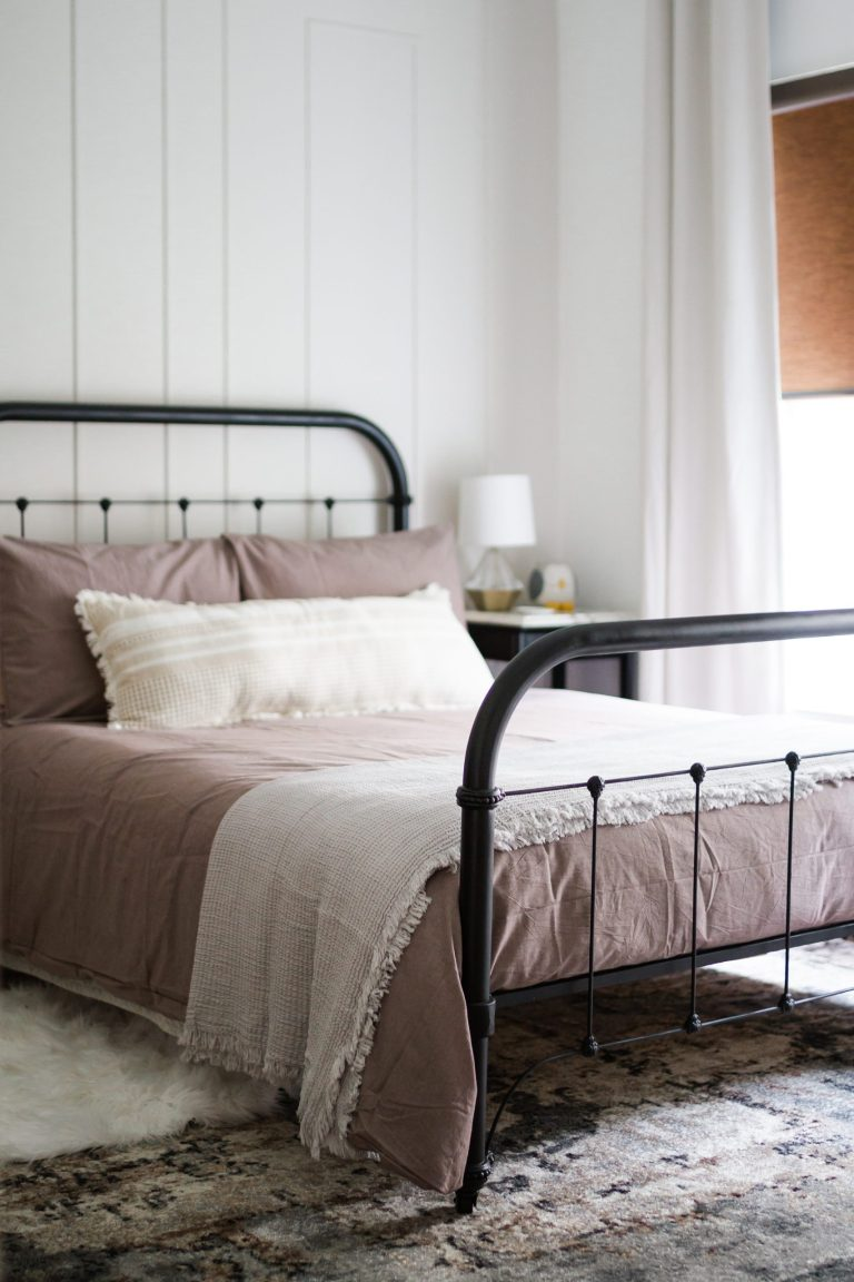 Refinished Metal Bed