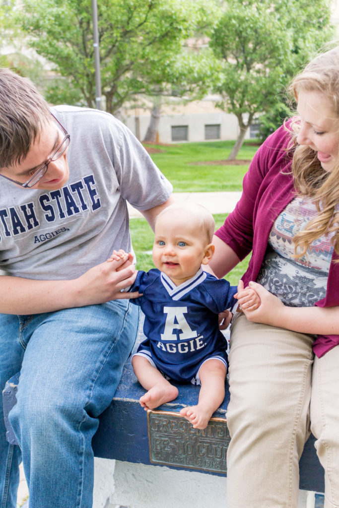 utah state family pictures
