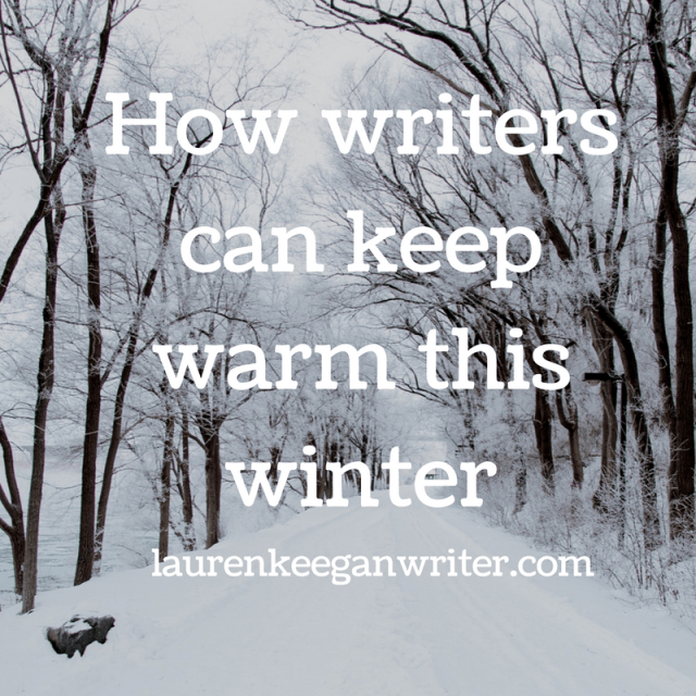 Writers keep warm