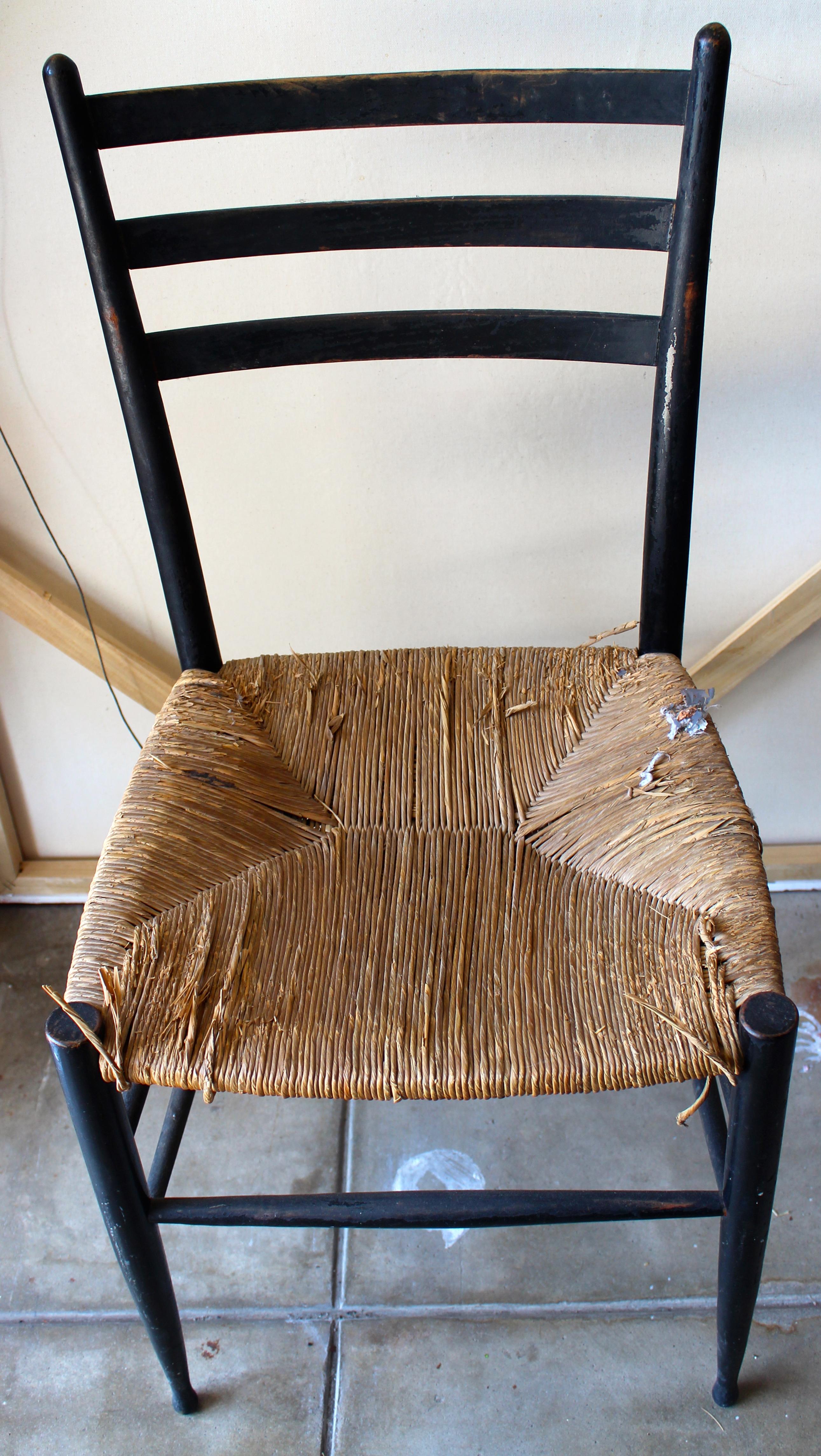 diy leather belt chair mini papasan webbed seat laurenkellydesigns