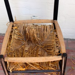 Diy Leather Belt Chair Tanning Lounge Webbed Seat Laurenkellydesigns