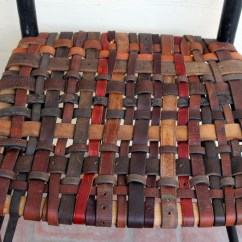 Diy Leather Belt Chair Hanging Egg Chairs Australia Webbed Seat Laurenkellydesigns